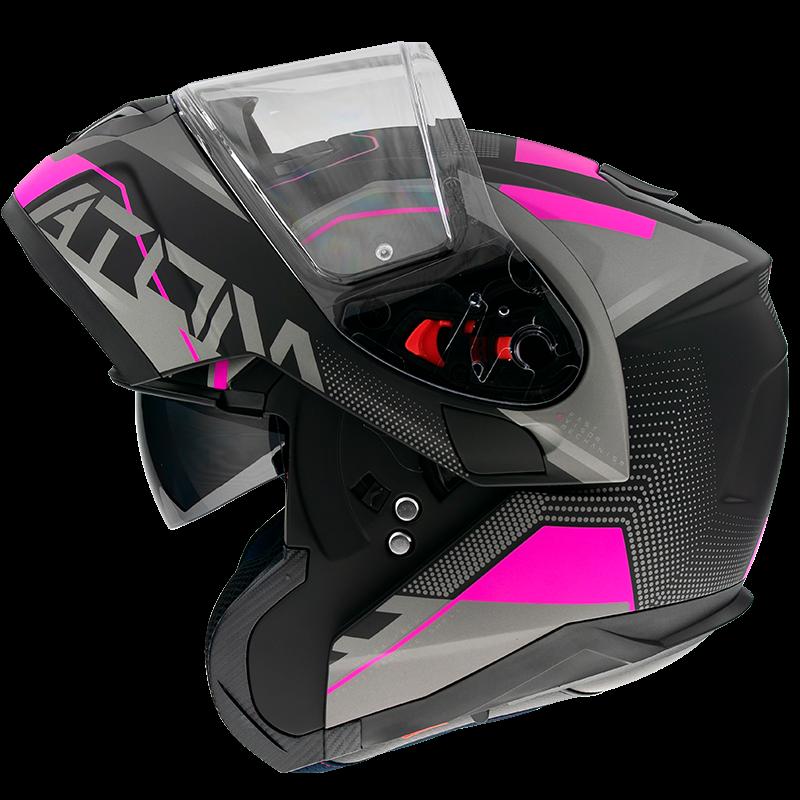 Casco MT Helmets modular Atom Quark A8