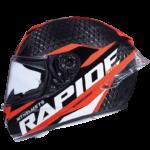 Casco MT Helmets Rapid pro carbon integral rojo