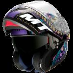 Casco MT Helmets modular Atom Axa A1