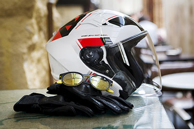 Casco MT Helmets de tipo Jet