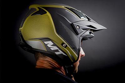 Casco MT Helmets de Trial