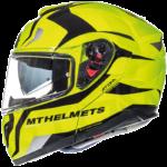 Casco MT Helmets modular Atom Divergence Amarillo