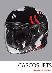 manual de usaurio del casco mt helmets jets